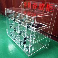 订制亚克力手机存放箱 透明手表眼镜展示柜 珠宝产品展示柜 有机玻璃陈列架