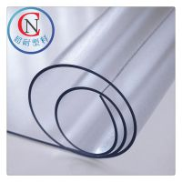 超耐批发磨砂软玻璃胶板 磨 砂水晶板 龙塑牌磨砂软胶1220mm宽度