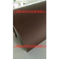 定制 1.7毫米黑色抗静电双面纤维帆布工业输送带 电子厂传送带