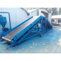 爬坡输送机不锈钢防腐 槽型物流输送机