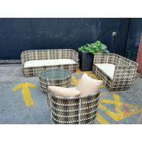 户外庭院藤椅户外桌椅庭院桌椅阳台休闲桌椅套装室外TY003