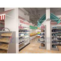 焦作大型超市设计布局规划,焦作大型超市装修把握五点