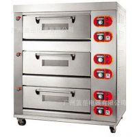 大型面包烤炉 三层六盘电烤箱 蛋糕面包披萨商用烤箱蛋挞烘炉