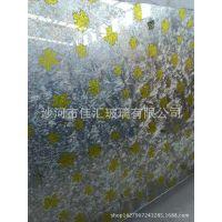 高档家装建材 装饰艺术玻璃 电视背景墙装饰玻璃工艺大理石