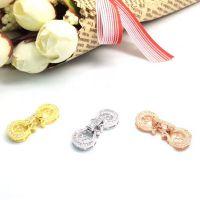 珍珠手链项链搭扣 单双排多排扣 DIY手工材料配饰
