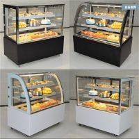 河南蛋糕柜厂家 直角弧形风冷蛋糕保鲜柜展示柜价格