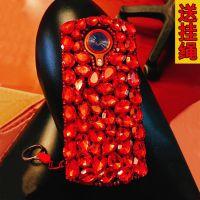 美图T8手机壳T8s女款M6奢华大红全包M8水钻硅胶个性创意韩国潮流s