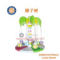 供应中山泰乐游乐制造 中小型室内外游乐设备 淘气堡 软垫 椰子树(TQ-06)