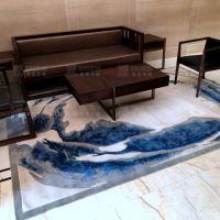 新西兰羊毛地毯,就选金宝华盛,可提供定制服务!