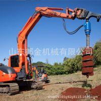 供应卡特320D挖掘机螺旋钻 钩机螺旋钻机厂家直销