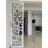 河北波浪板厂家专业定制时尚电视背景墙装饰边框雕花板玄关隔断板