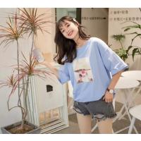 便宜男女T恤2019新款T恤拿货价格去哪找工厂库存尾货1-3元女士上衣便宜T恤批发