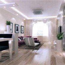 信阳业之家装修全包-田园三室两厅的装修哪家好