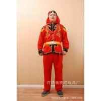 厂家直销 供应 优质 戏剧服装 舞龙舞狮服装 打鼓服批发