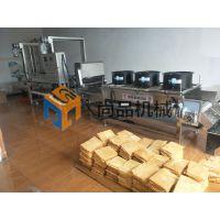 天津全自动薄脆生产机器 煎饼果子油炸生产线 工厂化油炸机