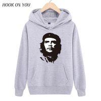新款人物切·格瓦拉 Ernesto Guevara印花长袖连帽保暖卫衣潮