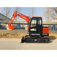 销量好的小型挖掘机是哪款 山鼎4吨小挖