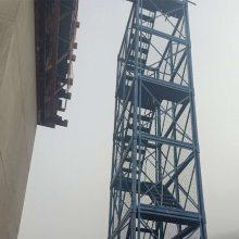 高速路桥安全爬梯 通达安全爬梯报价 组合式安全爬梯 香蕉式施工爬梯