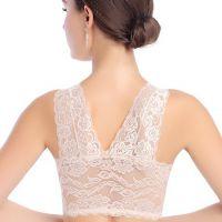 无痕内衣女士文胸背心式大码零束缚薄款收副乳聚拢运动无钢圈胸罩