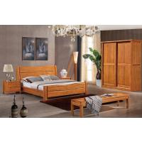 芜湖名邦家具全实木床,橡木床,北欧风格床,卧室婚床