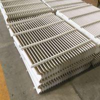 叶片式除雾器结构特点 二级除雾器间距 C型带钩 河北华强