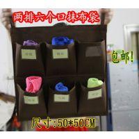 特价加厚防水酒店客房抹布袋挂袋布草清洁工作车工具区分毛巾收纳