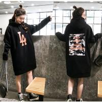 广州便宜加绒加厚卫衣时尚杂款女装宽松大版卫衣低价清货韩版印花卫衣清货亏本处理
