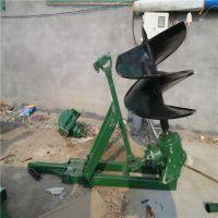 有机蔬菜大棚挖坑埋桩机 轻便打洞机 庞泰打坑机