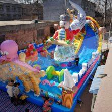 鲨鱼充气城堡充气大型玩具充气城堡租赁