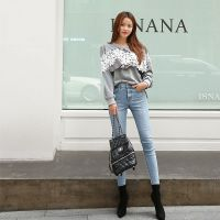 诺兰贝尔品牌服装批发市场折扣女装 北京丰台尾货批发白色打底裤