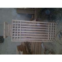 成都实木仿古窗花木门_木雕花型样式设计_中式木门隔断样式