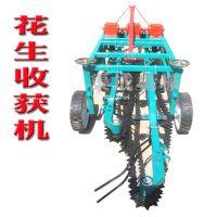 新型花生联合收获机械 花生收割机  四轮车带链条式花生起果机
