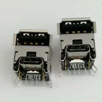 USB 3.0母座+TYPE-C 母座 二合一插座 加高型/垫高1.84/90度DIP/青蛙脚/卷边