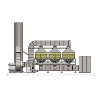 东莞印刷厂废气处理方案,恒峰蓝催化燃烧设备废气处理厂家