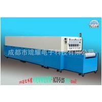 厂家供应隧道网带式高温流水烘烤线 IR热风循环红外线隧道炉定制
