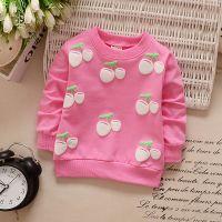 韩版女童T恤长袖宝宝秋装上衣0-1-2-3岁纯棉春秋打底衫婴幼儿衣服