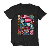 新款动漫美剧Rick and Morty瑞克和莫蒂夏装短袖T恤衫宽松纯棉男