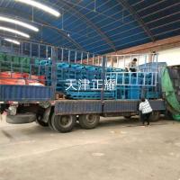 浙江长货物货架发货安装现场案例伸缩式解决行车存放长货物