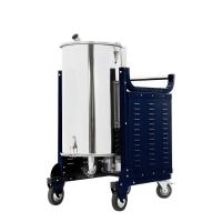 供应耐柯牌F90型380V4000W纺织厂用140L下进气工业吸尘器