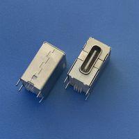 TYPE C16P侧插母座 USB 3.1 16PIN侧立式插板母座 田米笔记本专用快充插座 白胶