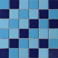 厂家直销陶瓷秞面马赛克游泳池厨房卫浴间瓷砖高温烧制永不变色