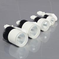 厂家直销合创星新品LED轨道灯 15w20w30w50w服装店射灯COB滑道射灯明装