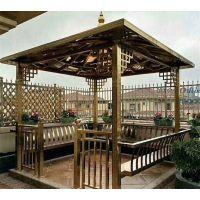 德和定制不锈钢亭子 公园景观凉亭 中式景观造景 不锈钢凉亭价格 bxg160
