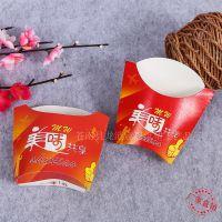 快餐外卖包装纸盒批发环保防油打包纸盒爆米花等食品包装盒印logo