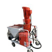 德式快速柴电两用自动喷砂石膏喷涂机 保温材料水泥粉墙 喷涂机 小型粉刷石膏粉墙机
