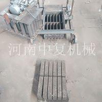 手动微型空心免烧砌块砖机 不用托板的两相电制砖头机械