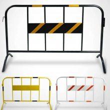 百瑞批发 不锈钢铁马护栏 便携式移动护栏 不锈钢移动隔离栏