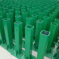 高速公路波形护栏板立柱 热镀锌护栏板立柱