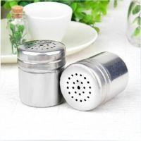 优质多用不锈钢调味瓶 烧烤调料罐 胡椒粉瓶盐罐 味精鸡精调料盒