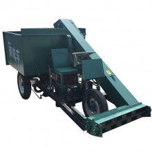 牛棚专用清粪机 自走式粪便清理机 柴油动力清粪车